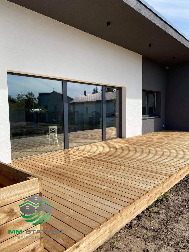 MM Statyba terasų montavimas